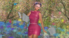 580  Roses & Thorns (Sannita_Cortes) Tags: secondlife sl styles virtualworld virtualfashion fashion female flowers roses thorns astralia ikon masoom collabor collabor88 lw lwposes luanesworld