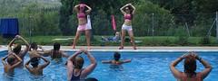 Aquagym (brujulea) Tags: brujulea campings espinelves gerona girona camping balma aquagym