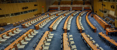 United Nations Conference Room #4 (Anthony's Olympus Adventures) Tags: unitednations un chamber conference room nyc newyork usa america auditorium hall headquarters meeting