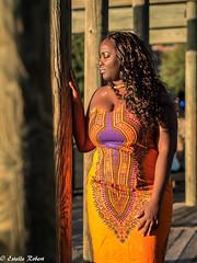 African queen in New-York (estellerobertnyc) Tags: nyc newyork africanqueen afrohair blackbeauty blackhair ete portrait summer