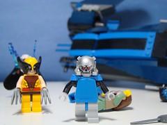 Purist Apocalypse. (166 Customs) Tags: ageofapocalypse legoxmen xmen legoapocalypse lego apocalypse