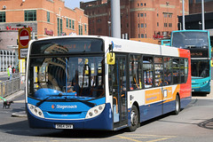 27147 SN64 OHV (Cumberland Patriot) Tags: stagecoach north west on merseyside in liverpool glenvale adl alexander dennis dart slf super low floor enviro 300 e300 sn64ohv 27147 buses queen square bus station city centre passenger transport road vehicle