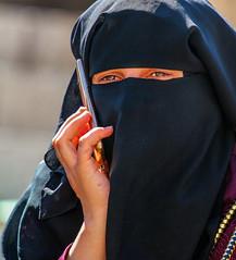 Near The Sea,  by: Yehuda Amichai (ybiberman) Tags: alquds fridayprayer israel jerusalem oldcity ramadan candid cellphone cellularphone hijab niqab portrait streetphotography woman
