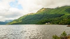 Loch Lomond, looking north from Rowardennan (Bev & Paul Mynott) Tags: lochlomond rowardennan