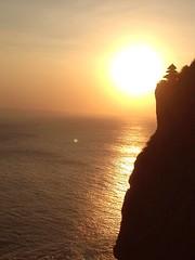 Bali-Magnificient sunset at Uluwatu Temple1