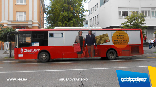 Info Media Group - Ziraat Bank, BUS Outdoor Advertising, Banja Luka 08-2016 (1)