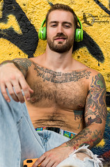 Model John (Shawn Collins Photography) Tags: hairy hairychest model modeling masculine tattoo built chest shirtless beard bearded scruff beardporn handsome sexy pose abs arms eyes fit fitness fitnessmodel