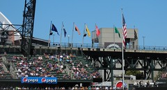 Mariners Flag in 2nd Place - Aug 24, 2016 (Jeffxx) Tags: seattle mariners safeco baseball flags yankees game 2016 august field