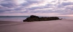 black marlin theory (keith midson) Tags: boatharbour tasmania sunrise water beach coast coastline clouds rock shoreline shore horizon blackmarlin waterbaby