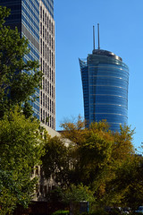 Warsaw Spire / from North (Images George Rex) Tags: warsaw pl photobygeorgerex imagesgeorgerex poland warszawa ghelamco warsawspire highrise offices