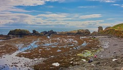 Beach at the ancient village of St. Monans, Fife, Scotland (Lawrence Fahrenholz) Tags: st monans east neuk fife scotland