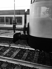 2016_049 (casirfm) Tags: bw biancoenero trenord train iphone6splus apple 2016 cameraphone casirfm iphonography iphonephotography settembre