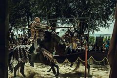 El momento justo (Oriol Colls) Tags: chevalier fight warrior horse avila spain knight rider moment jousting justa x100t fujifilm