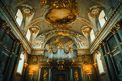 The Top One Percent (LexSwamp) Tags: wealth chruch cathedral gold orange golden blue colour color architecture warm france brussels scandinavia sweden denmark finland norway rich art roman old ancient history europe