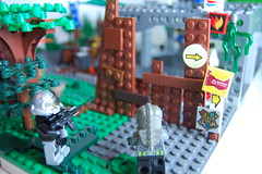 Post-apoc battle (my name is schimmi) Tags: lego custom post apoc battle fallout goverment society resitance