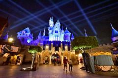 The backside of Sleeping Beauty Castle in Disneyland (GMLSKIS) Tags: disney california amusementpark anaheim disneyland sleepingbeautycastle