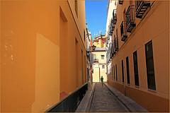 Dans le quartier de Triana, Sevilla, Andalucia, Espana (claude lina) Tags: claudelina espana spain espagne andalucia andalousie ville town city sevilla sville architecture rue street