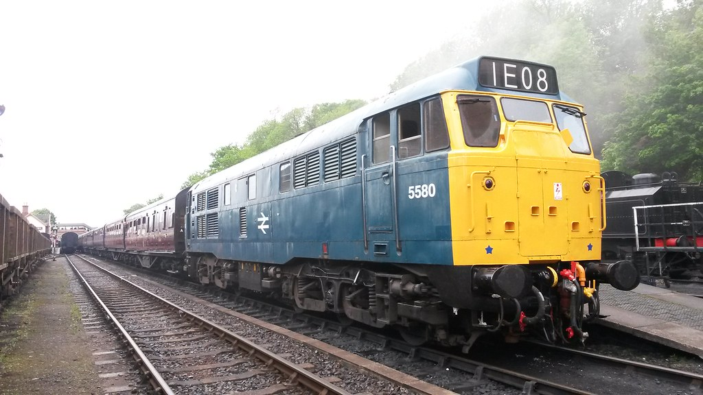 5580 (31162) at Bewdley (Decibel Dave) Tags: severnvalleyrailway 31162  brush englishelectric