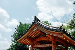 Old Temple Sky Cloud Clouds And Sky Low Angle View Temple - Building Roof Red August Summer Day Getting Inspired Temple Architecture Temple August 2016 Hello World Nara Nara,Japan Hot Day   (T.M Photos) Tags: oldtemple sky cloud cloudsandsky lowangleview templebuilding roof red august summerday gettinginspired templearchitecture temple august2016 helloworld nara japan hotday