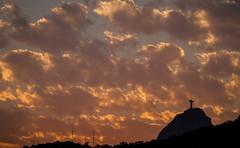 Cristo Sunset (Richard Parmiter) Tags: rio2016 corcovado sunset statueofchrist