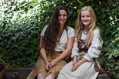 prehistoric girls (hans s) Tags: archeon 2016 prehistoric
