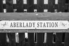 77 As it says on the tin ! (NSJW photos) Tags: aberlady trainstation scotland campsite nsjwphotos