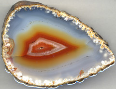 Agate nodule (James St. John) Tags: agate nodule quartz