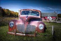 Door County DeSoto (helikesto-rec) Tags: auto car wisconsin automobile desoto doorcounty 1940desoto