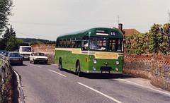 GWS-543-MOR581-Tilford-020594a (Michael Wadman) Tags: tilford aecreliance aldershotdistrict mor581 guildfordwestsurrey surreyhillsleisurebus