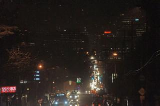 Rainy Hawthorne Blvd