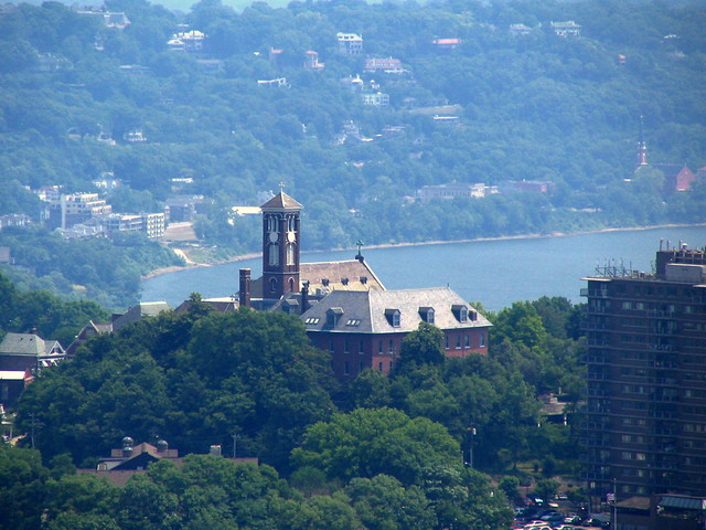 Cincinnati From Above #20: Holy Cross Monastery and Chapel