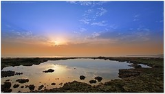 Morning Time - Around Sea Lake (khalid almasoud) Tags: city morning light sea sky lake reflection beach clouds rocks all photographer pentax tide low  rights absolutely kuwait  curve khalid reserved    greatphotographers   2013 february9  k01 almasoud  thebestofday gnneniyisi perrrfect  anjafah