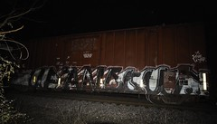Up and Out (Revise_D) Tags: ben rails tagging freight revised fr8 upandout fr8heaven fr8aholics