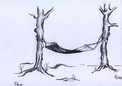 Drawing challenge 2 (lindasilja) Tags: trees art drawing rest lindasilja drawingchallengeno2