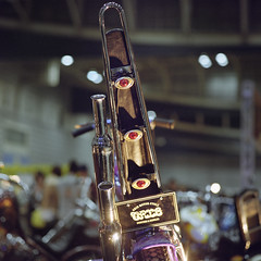 (shimobros) Tags: show hot film bike japan vintage chopper kodak mc bronica squareformat moto motorcycle rod yokohama custom sq portra 800 basic digger 2012 bobber mooneyes 150m zenza adobelightroom フィルム hotrodcustomshow ムーンアイズ