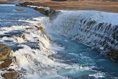 Gullfoss (skolavellir12) Tags: winter ice nature water river island iceland islandia gullfoss vetur glacial islanda suðurland ísland jökull hvítá á jökulsá jökulá