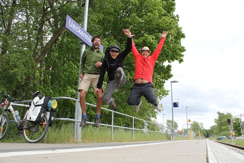 End of Oder BikeTour 2012