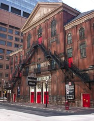 Massey Hall ~ Toronto On  ~  National Historic Site of Canada (Onasill ~ OFF/FAMILY) Tags: travel music toronto ontario canada heritage architecture hall site landmark tourist historic architect national sidney attraction gardendistrict massey on badgley onasill