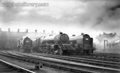 M999-00383 (railphotolibrary.com) Tags: old england english lines train three europe princess smoke shed tracks archive engine royal railway steam scot depot locomotive 460 royalscot uk1 6206
