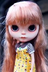 Mae (prettyinthekitchen) Tags: rachels ribbon blythe custom meimei fbl