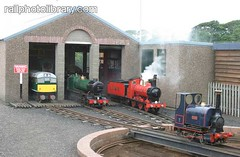 M002-00116 (railphotolibrary.com) Tags: building turn train table scotland daylight miniature europe shed railway steam depot gauge narrow arbroath kerrs uk1