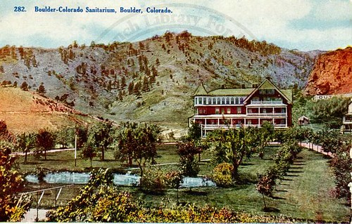 Photo - Boulder Sanitarium post card