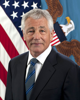 From flickr.com/photos/56594044@N06/8515024577/: Portrait of SEC DEF Charles T. .Chuck. Hagel.