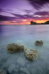 festival de colores (natalia martinez) Tags: sunset azul atardecer mar agua colores cielo seda nataliamartinez
