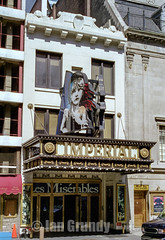 00 NYC Imperial 1 (stagedoor) Tags: nyc copyright usa cinema newyork building architecture america teatro kino theater unitedstates theatre broadway olympus cine scanned imperial lesmiserables west45thstreet herbertkrapp