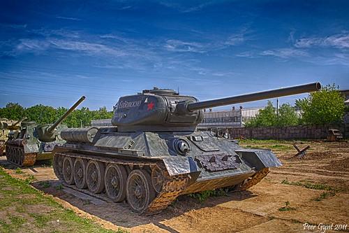 T-34-85 ©  Peer.Gynt
