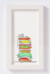 princess  [gifts with thoughts] (saposaraso★) Tags: illustration princess sleep pillar feather bean pillow awareness pea saposaraso