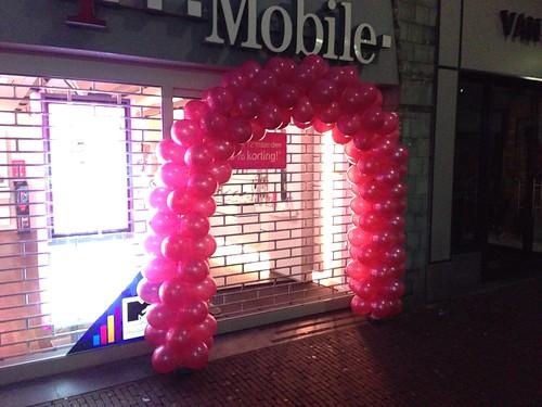Ballonboog 6m T-Mobile Delft
