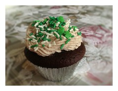 Irish I didn't know how much butter was in this. (dandimar) Tags: irish car st day guinness cupcake patricks baileys bomb jameson