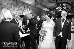 Catherine & Steven's Wedding - South Causey Inn Wedding - County Durham (Lorraine Wight Photography) Tags: wedding blackandwhite love happy groom bride couple crying ceremony marriage laugh laughter emotions brideandgroom nervousgroom civilceremony brideanddad brideandherfather northeastweddingphotographer countydurhamweddingphotographer stanleywedding southcauseyinn countydurhamwedding southcauseyinnwedding southcauseyinnweddingphotographer